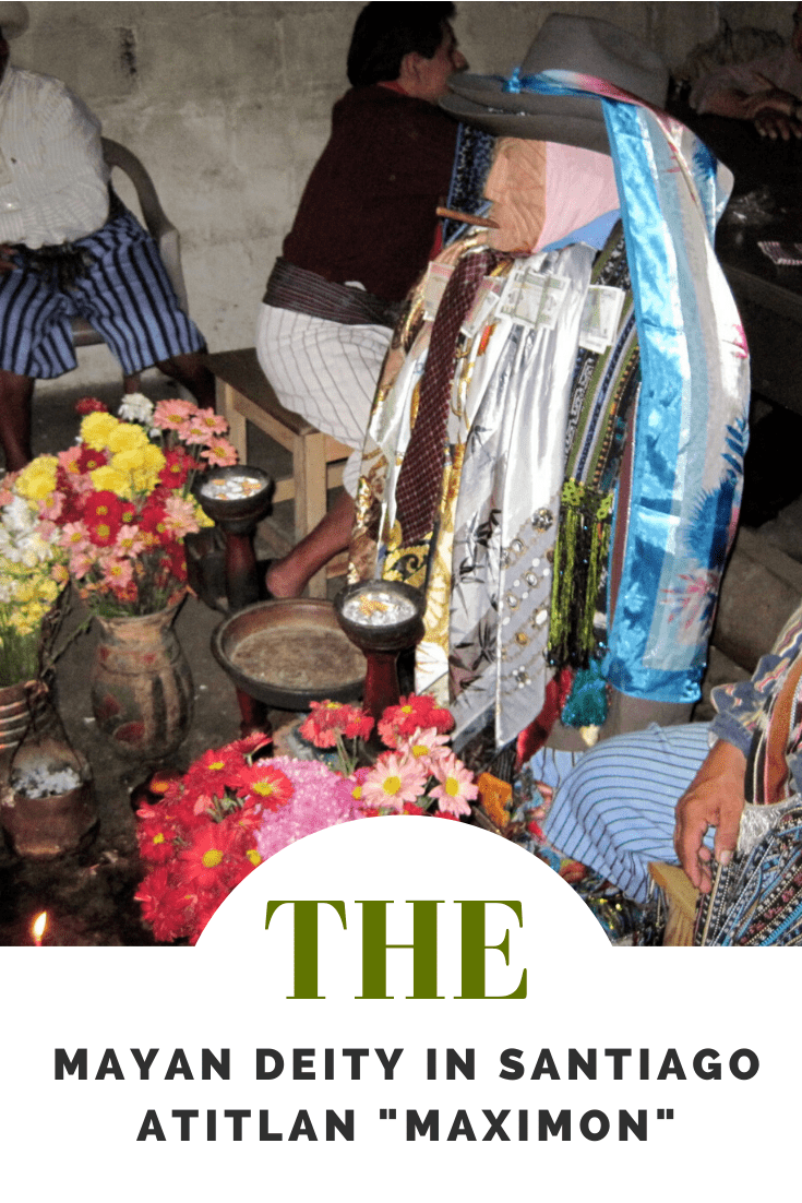 Visiting a Mayan Deity in Santiago Atitlan - Maximon Guatemala