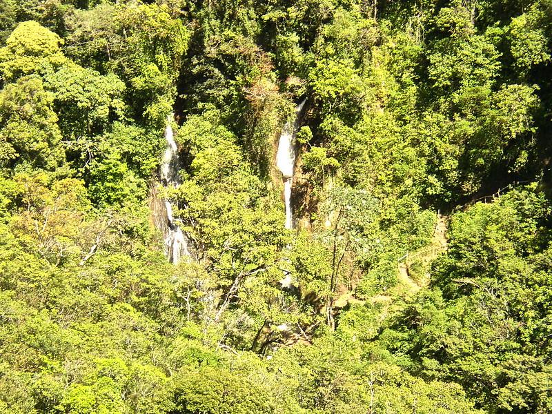 san luis waterfall in monteverde, costa rica
