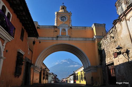 arc in Antigua Guatemala