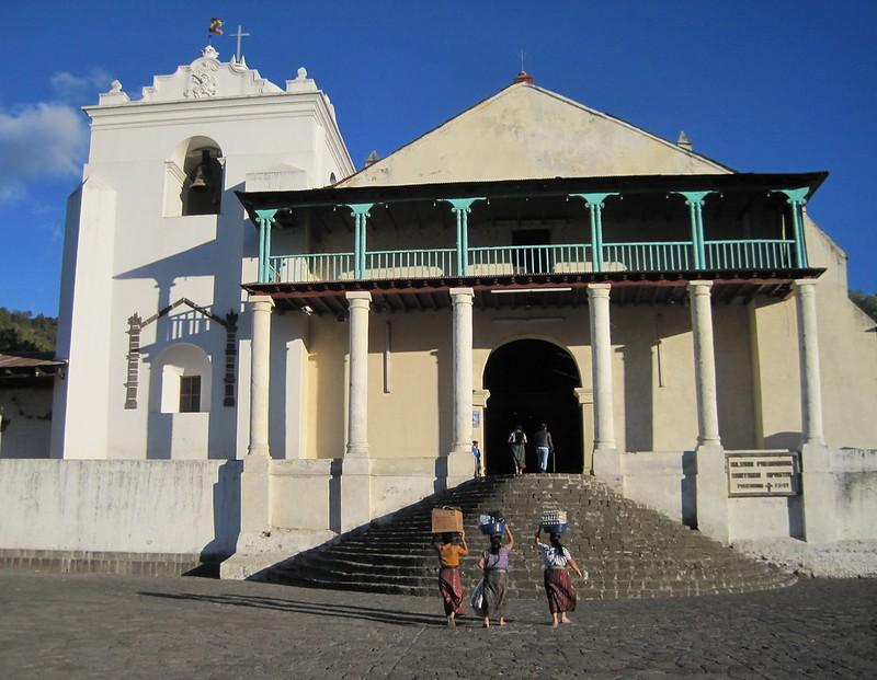 Santiago church in Lake Atitlan Guatemala