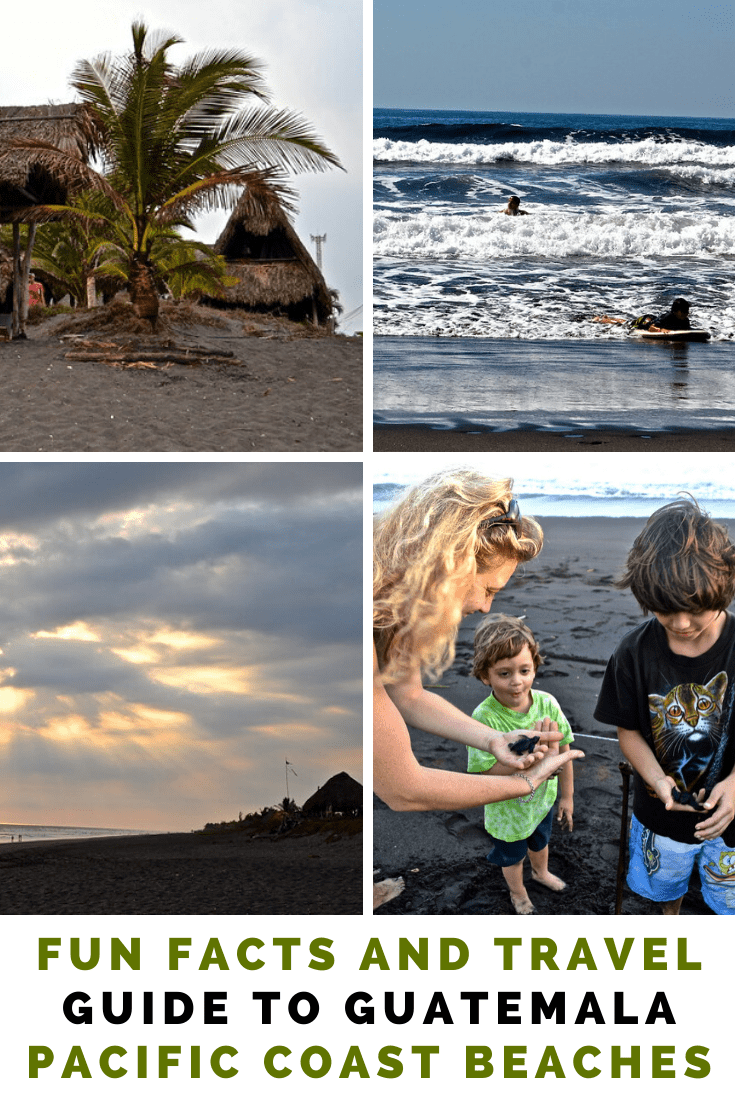 Fun Facts and Travel Guide to Guatemala Pacific Coast Beaches
