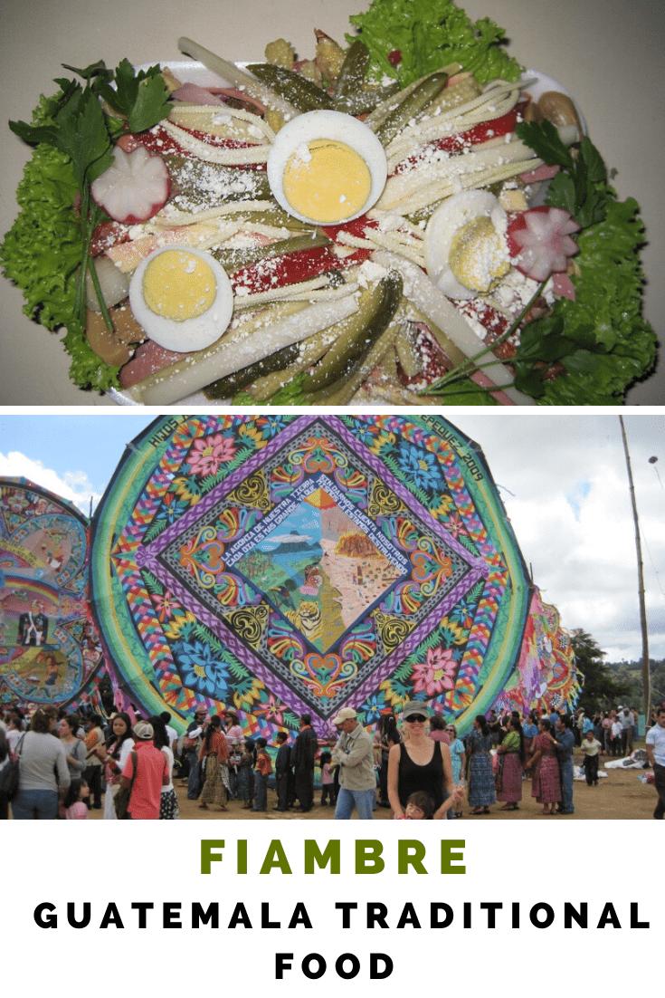 Guatemala Traditional Dish - Guatemala Fiambre - Day of the dead