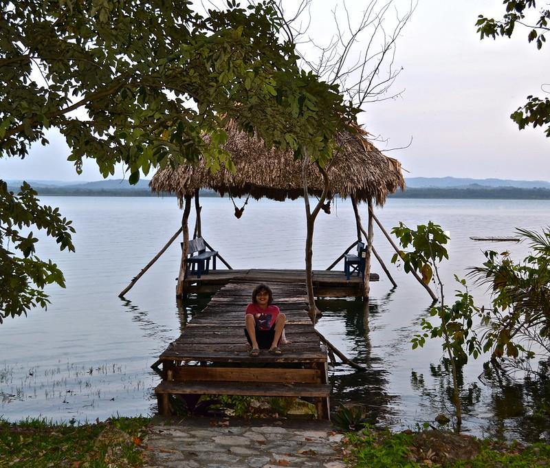 The Peten Department in Guatemala - el remate
