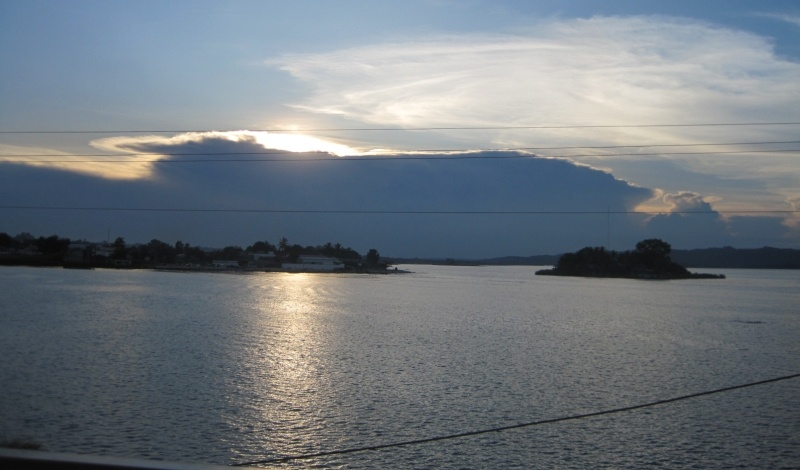The Peten Department in Guatemala - flores island town