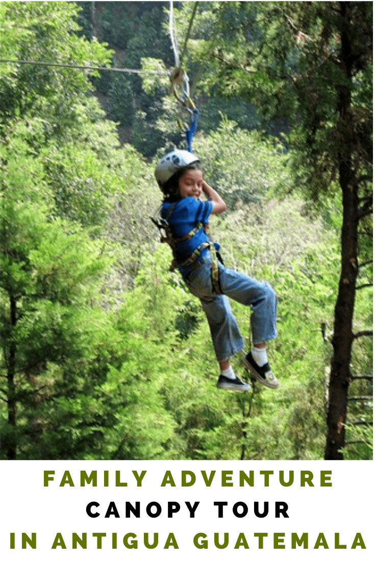 Family Adventure at a Canopy Tour in Guatemala