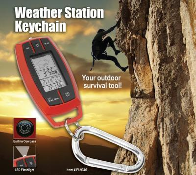 Weather Station Key Chain