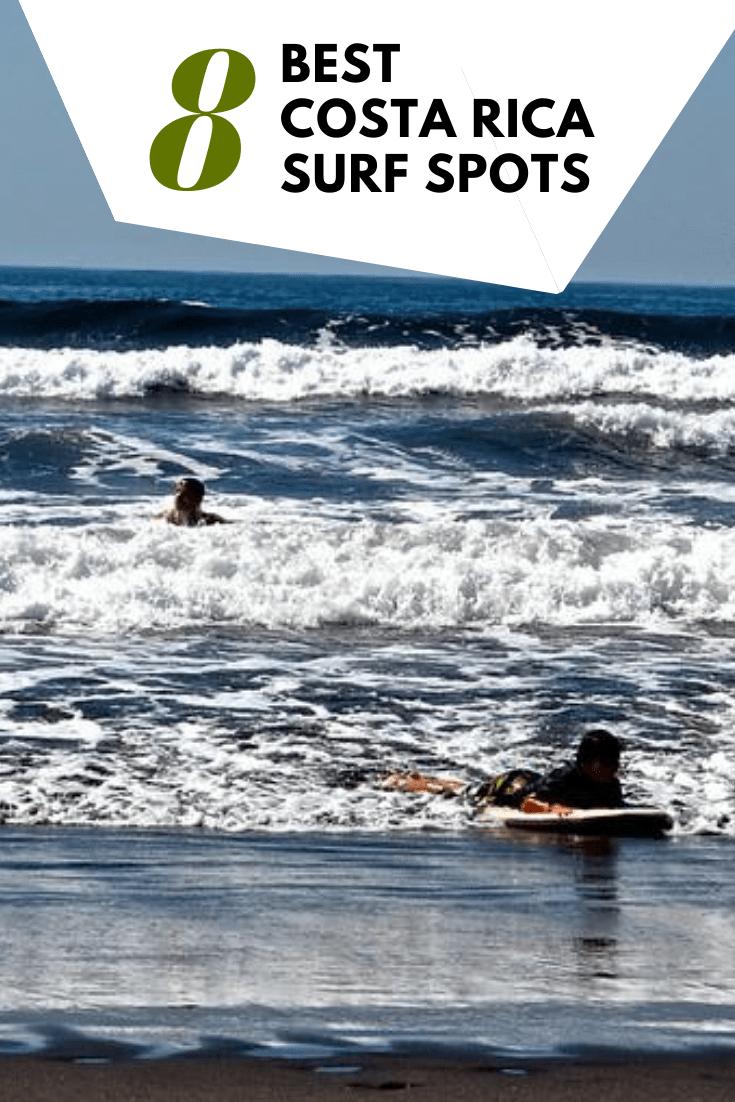 8 Best Costa Rica Surf Spots