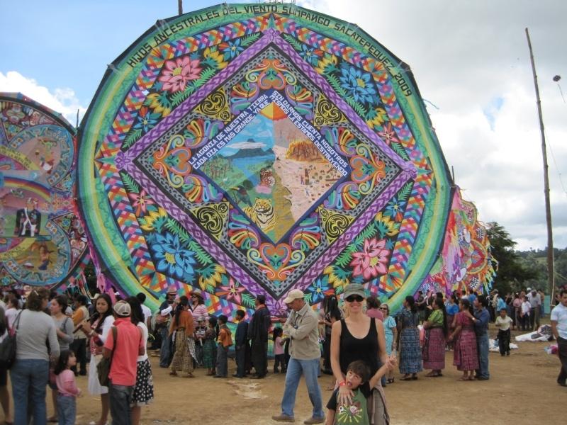 Kite festival in Sumpango, Guatemala