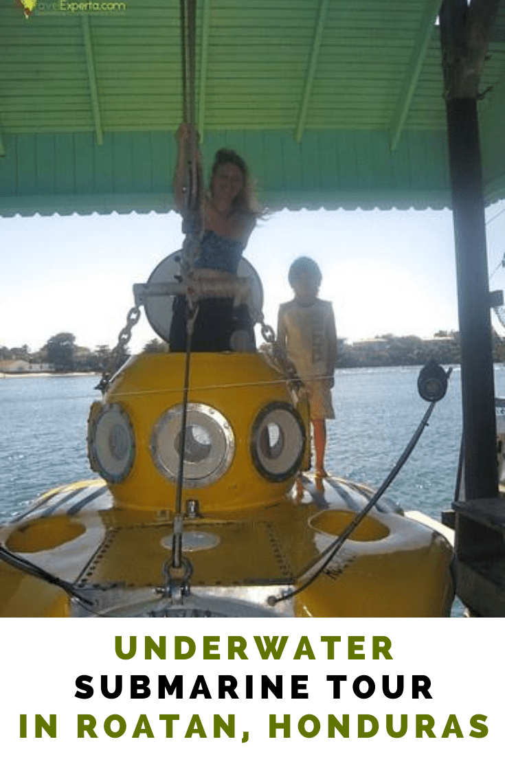 Underwater Submarine Tour in Roatan, Honduras - Once in a Lifetime Experience!