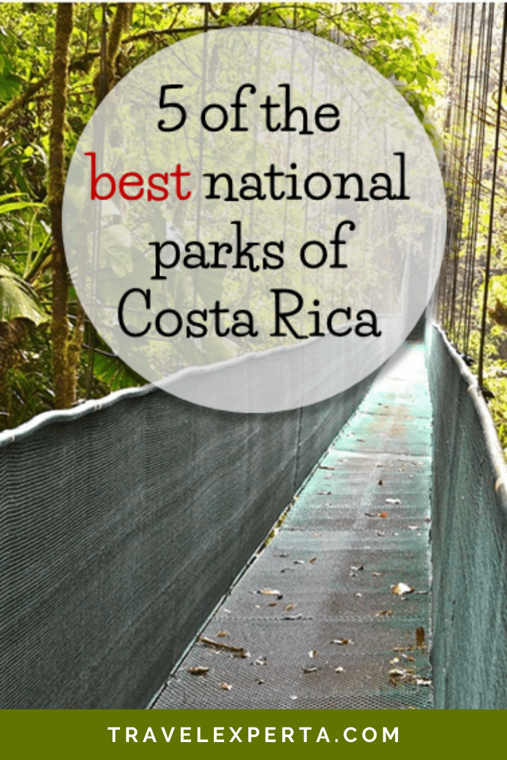 5 of the Best National Parks of Costa Rica