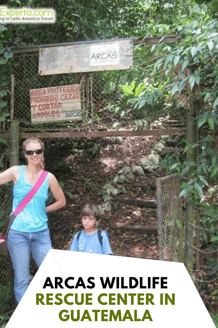 Discover Arcas Wildlife Rescue Center in Guatemala