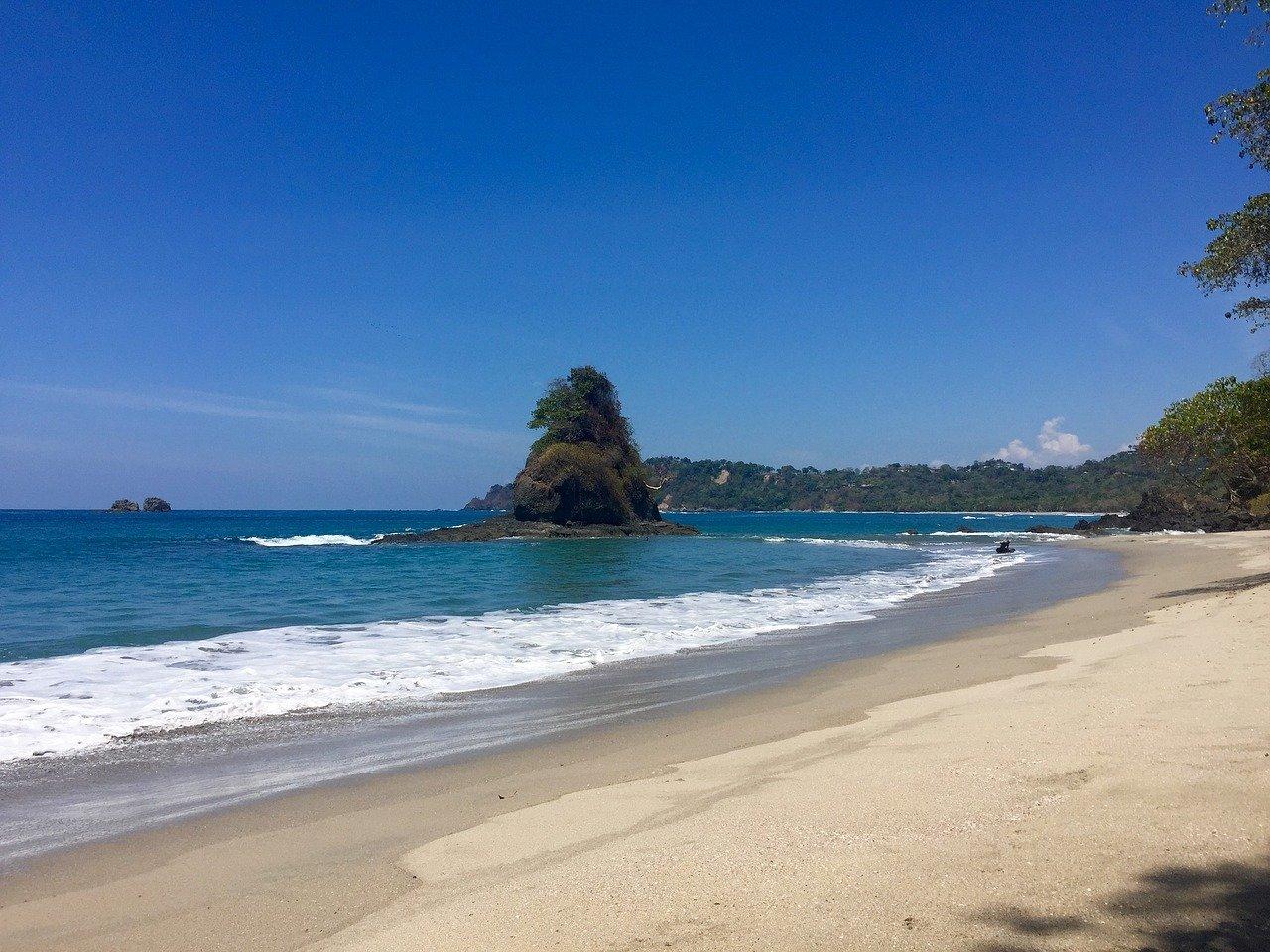 Pacific Coast Costa Rica beach