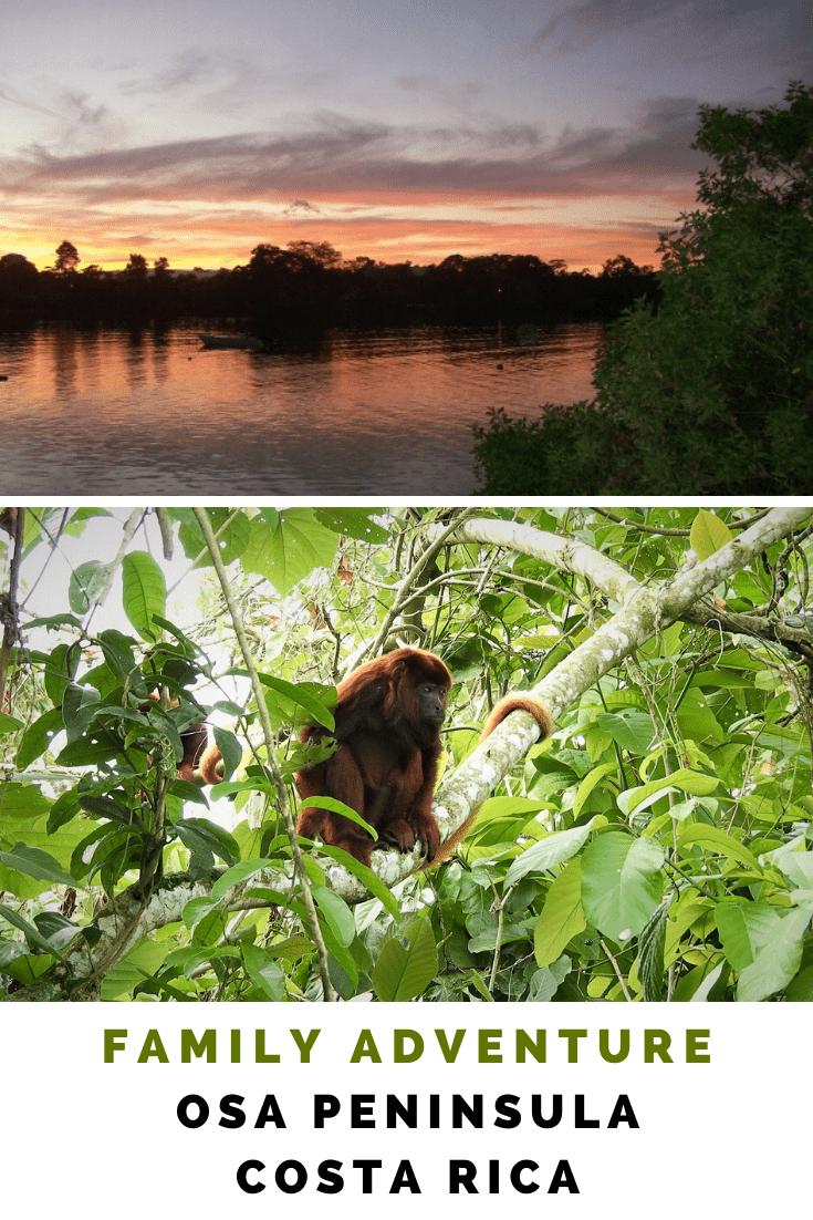 An adventure on the Osa Peninsula Costa Rica