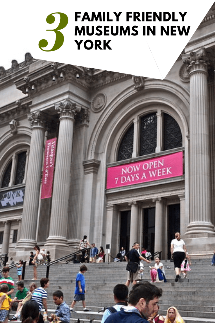 3 Family Friendly Museums in New York