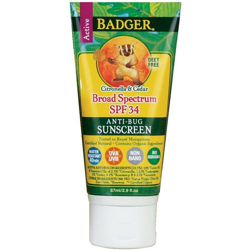 Badger Bug Repellent Sunscreen