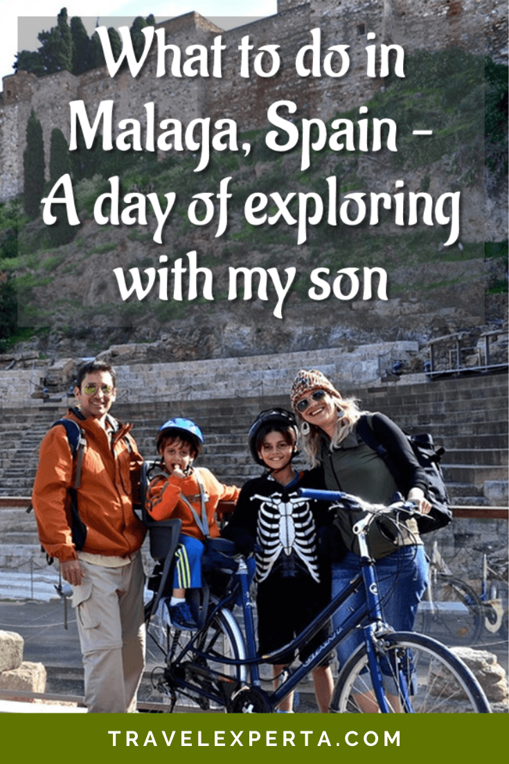 What To Do in Malaga, Spain - A Day of Exploring With My Son