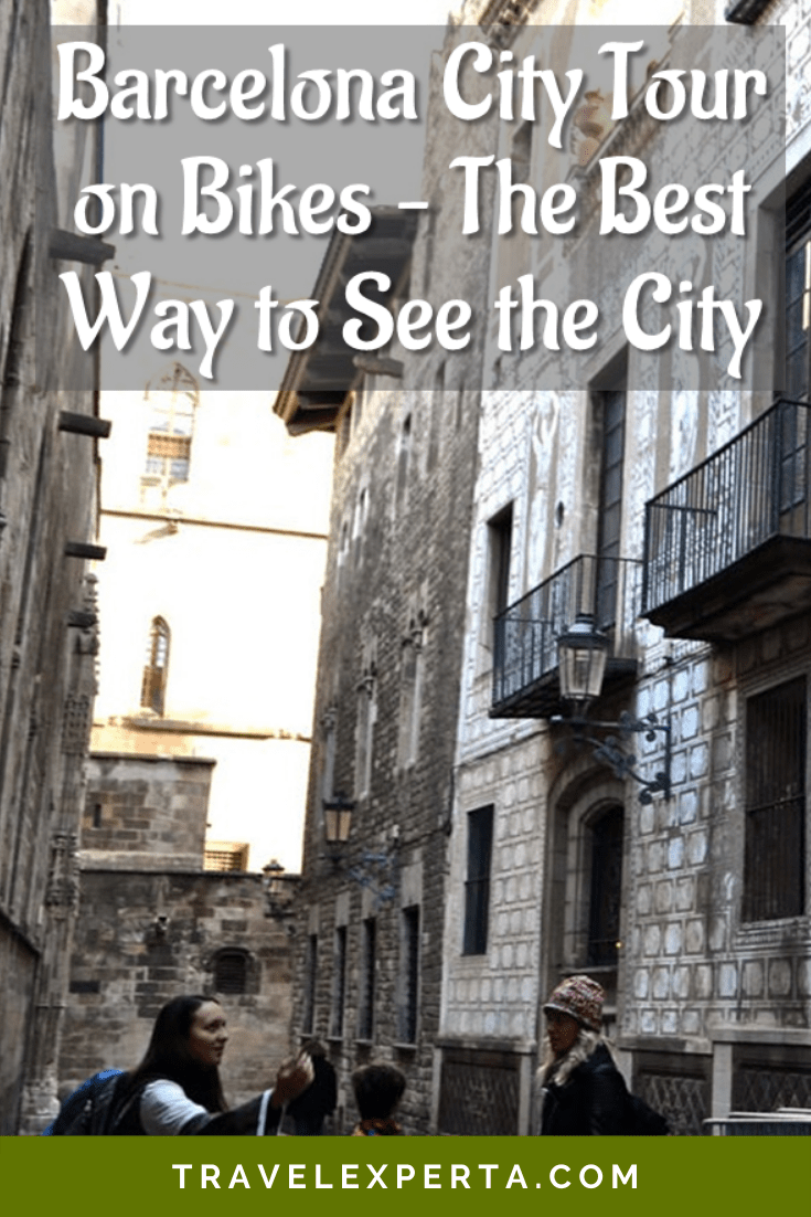 Barcelona City Tour on Bikes - The Best Way to See the City