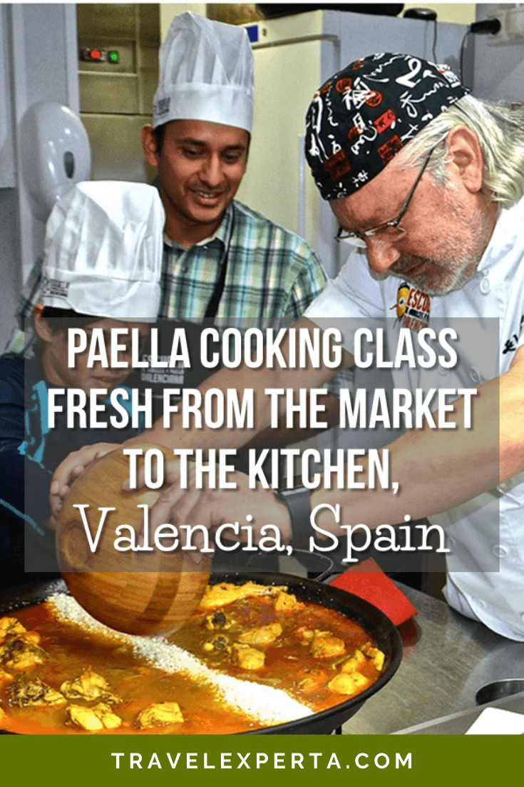 Paella Cooking Class - Fresh from the Market to the Kitchen, Valencia Spain