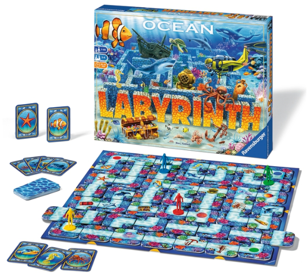 The Ocean Labyrinth Board Game By Ravensburger