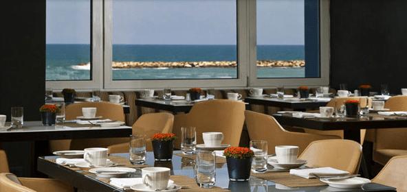 Breakfast in Dan Tel Aviv hotel