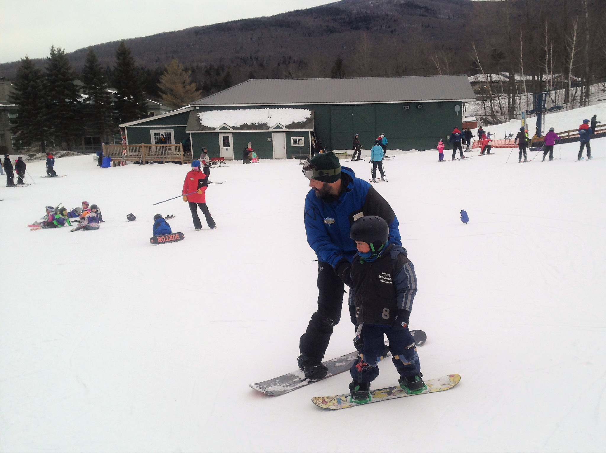 private snowboarding instructor, vermont ski resorts
