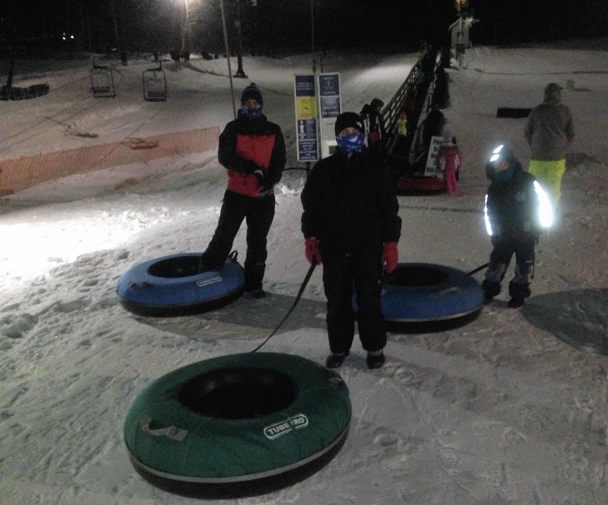 snow tubing - smugglers notch resort