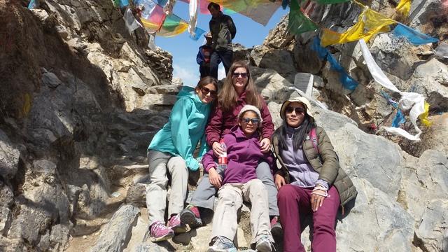 Tibet Travel trekking in gangen monastery