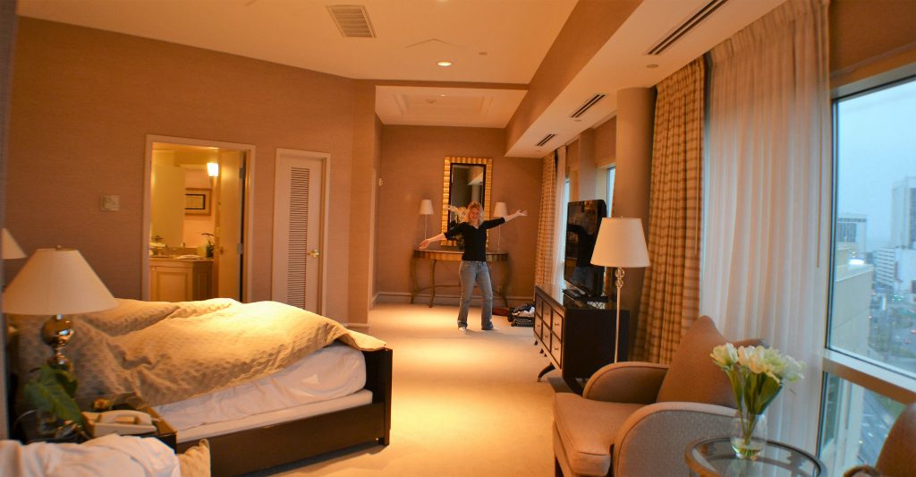 master bedroom - presidential suite