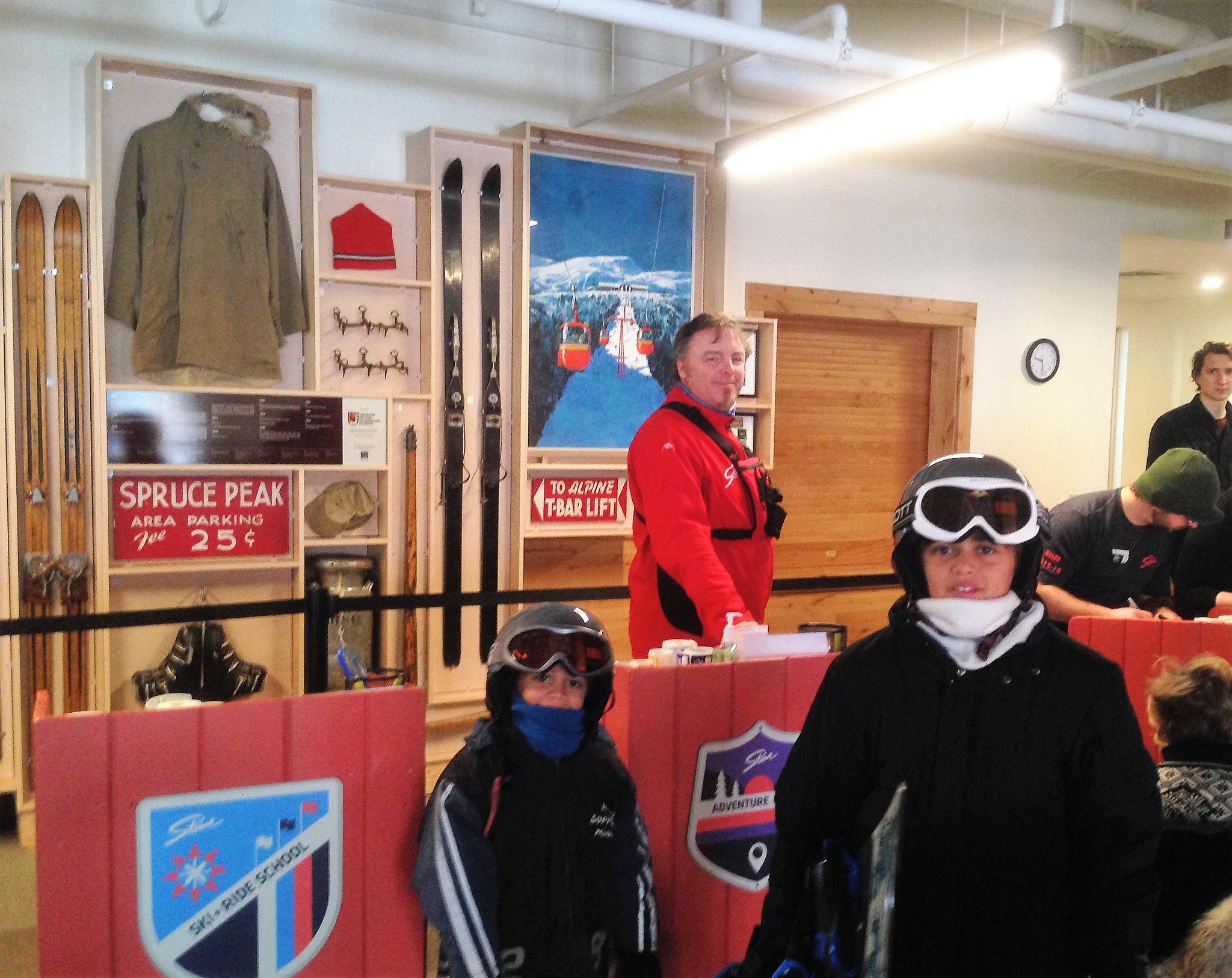 snowboarding school for kids - stowe vermont