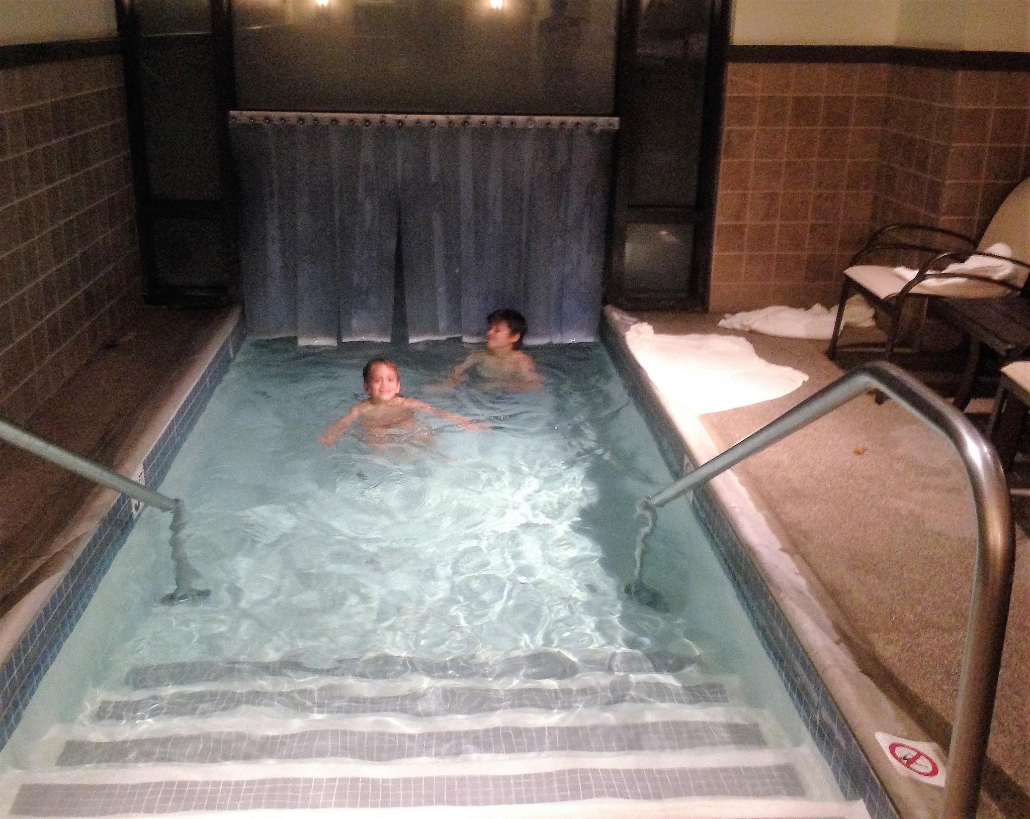 sub zero pool time - stowe vermont