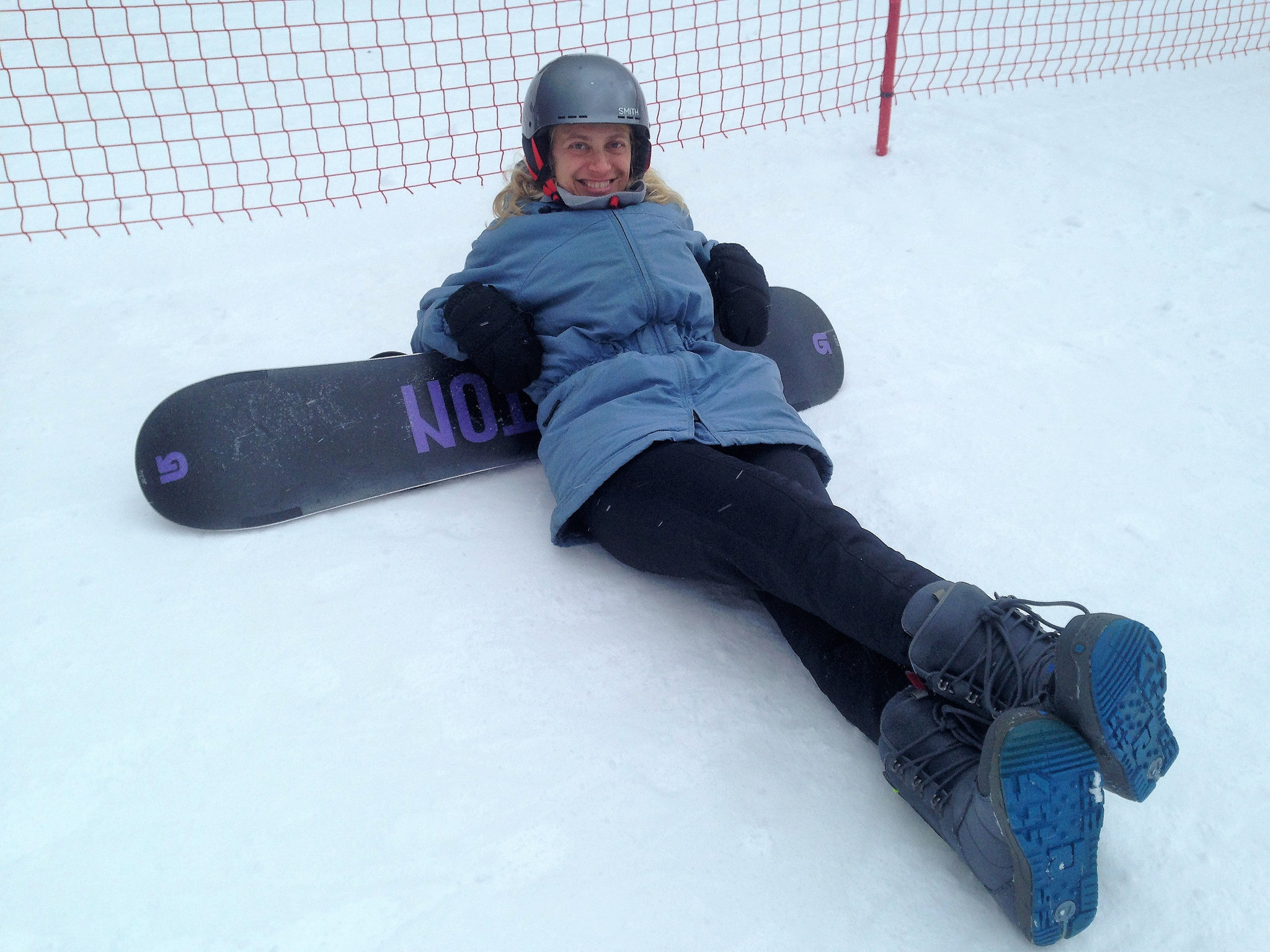 snowboarding for women - stowe vermont