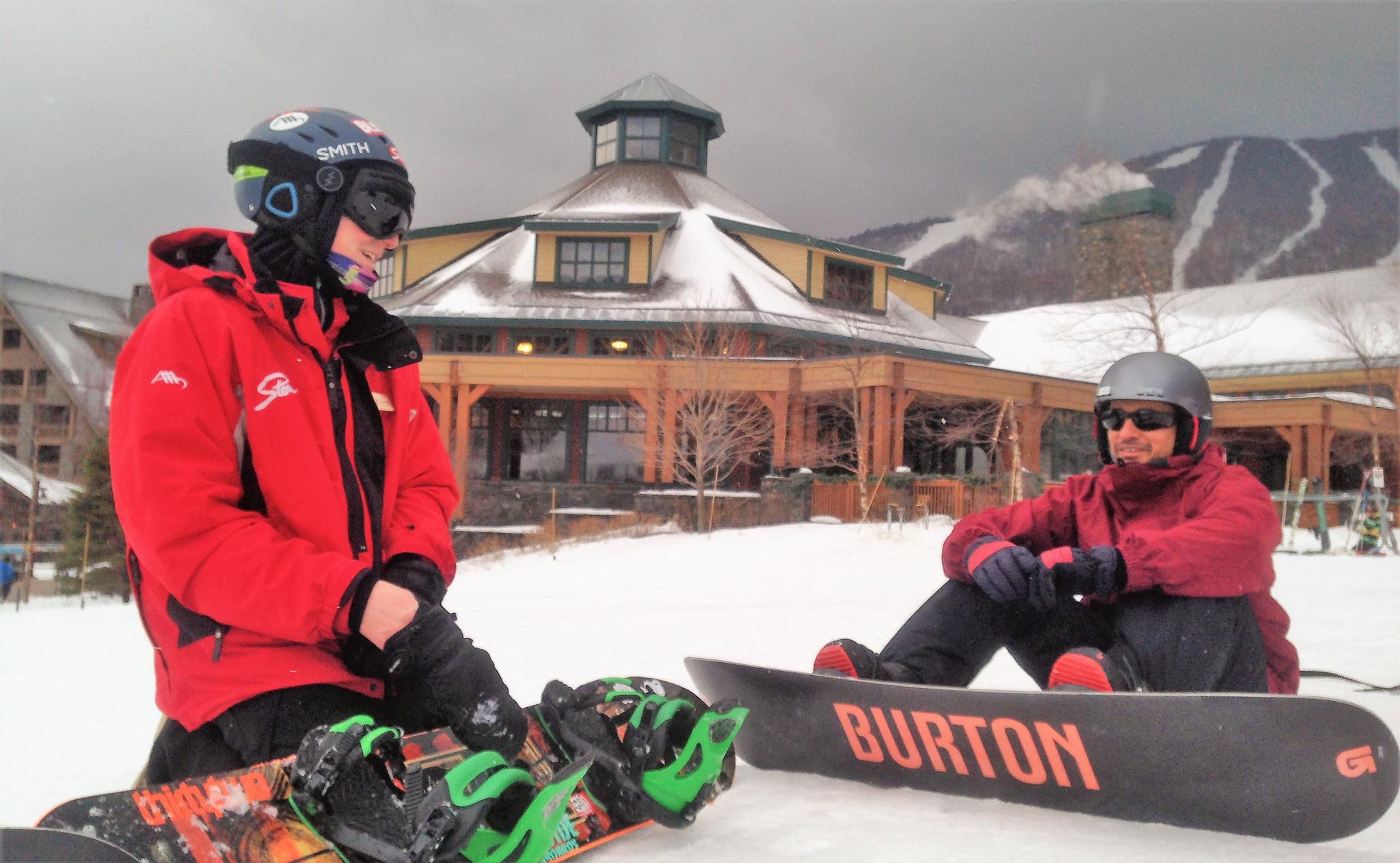 snowboarding school for adults - Stowe Ski Resort