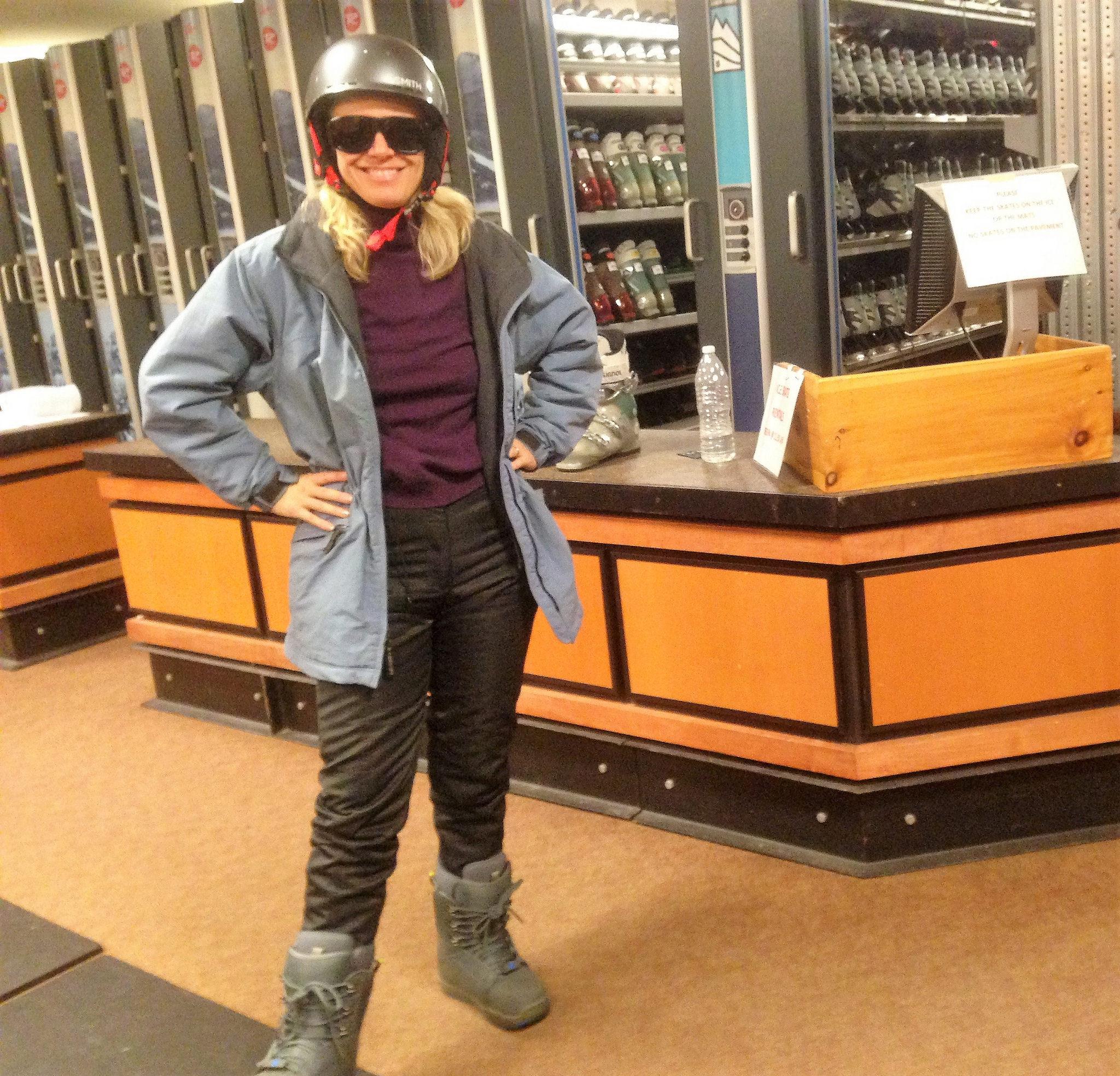sowboarding in vermont - Stowe Ski Resort