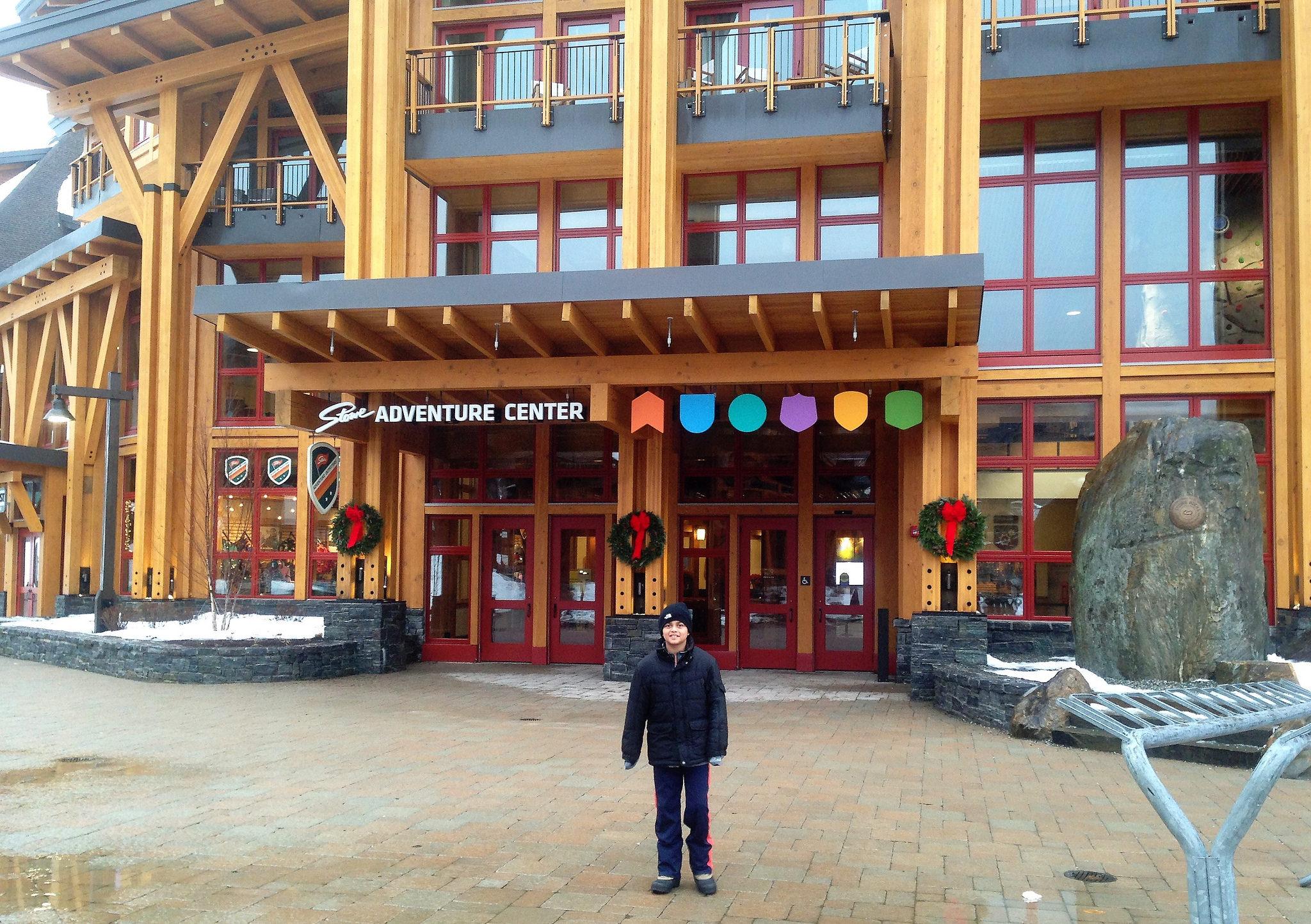Adventure Center at Stowe Mountain Resort, Vermont