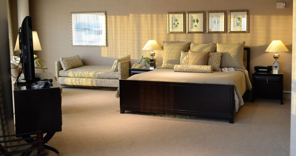 master bedroom - presidential suite - Atlantic city