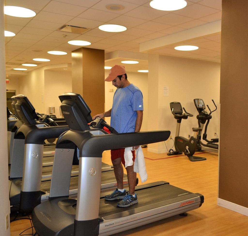 sheraton atlantic city - gym