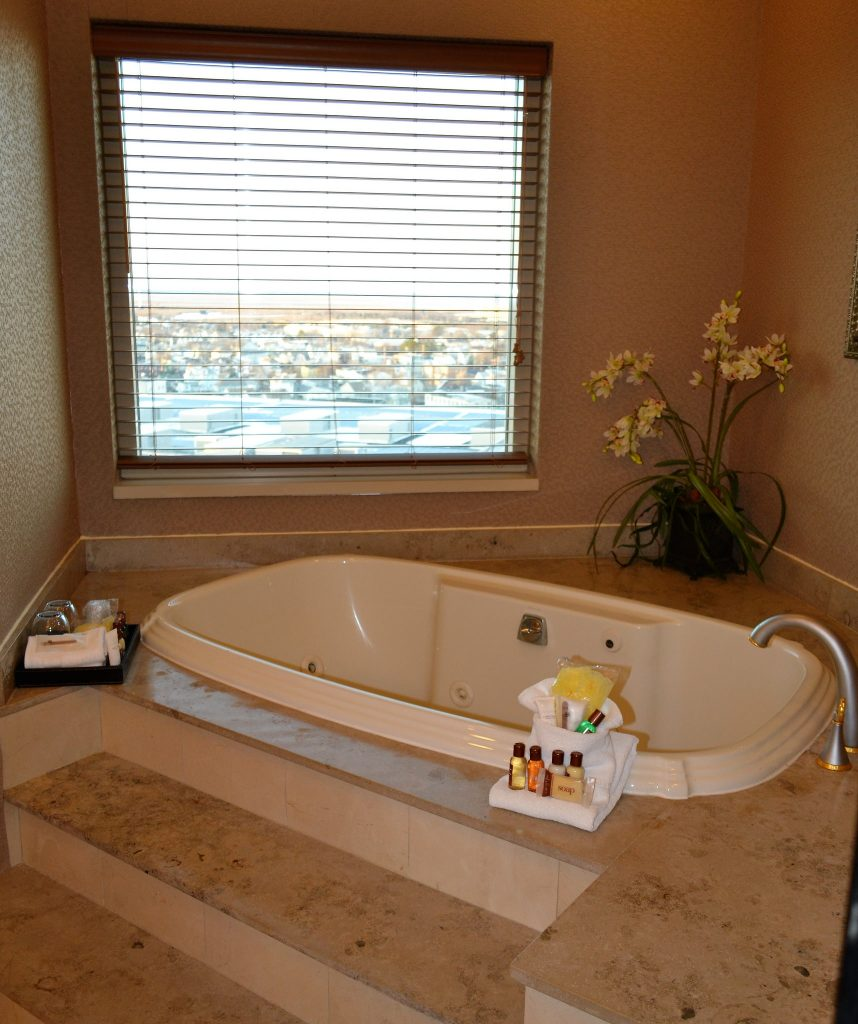 atlantic city - master bath - presidential suite - with a view