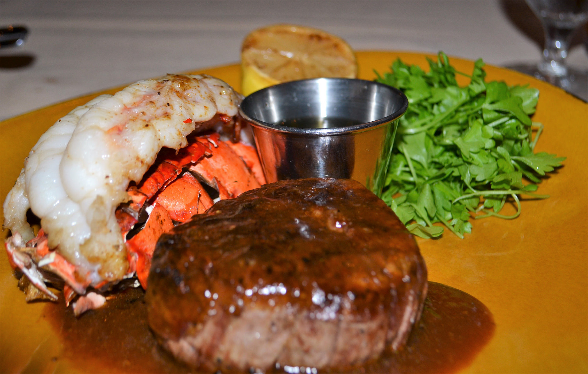 surf and turf, packard's steakhouse, award winning chef, golf resorts in florida