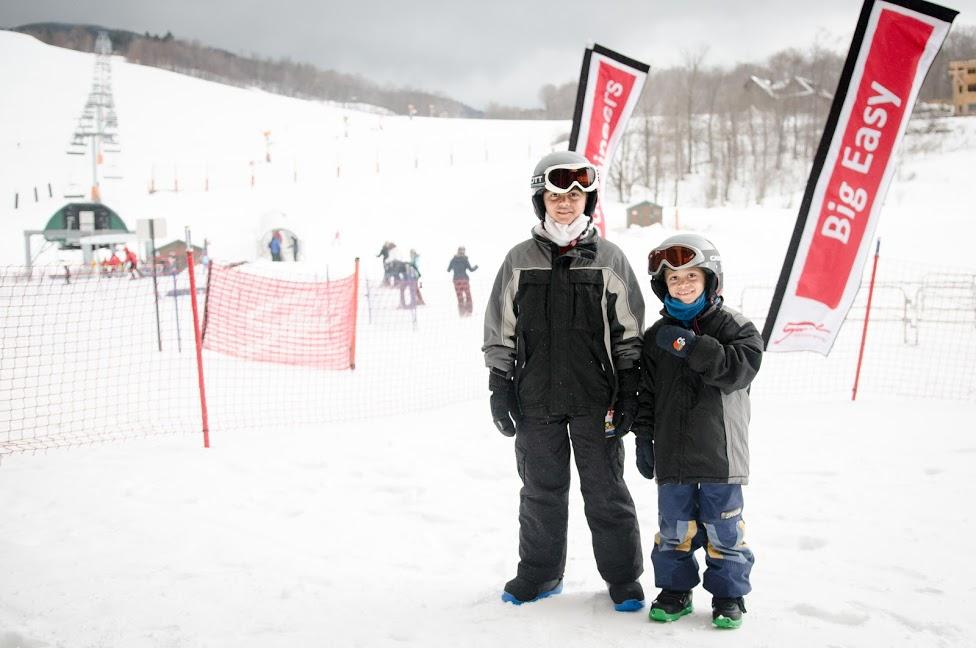snowboarding in vermont - stowe mountain resort