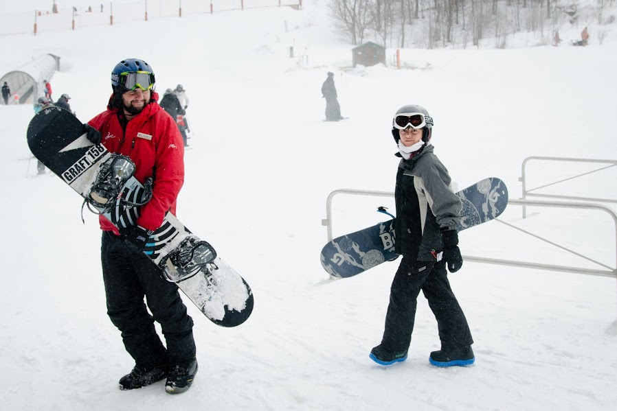 snowboarding school for kids vermont - stowe