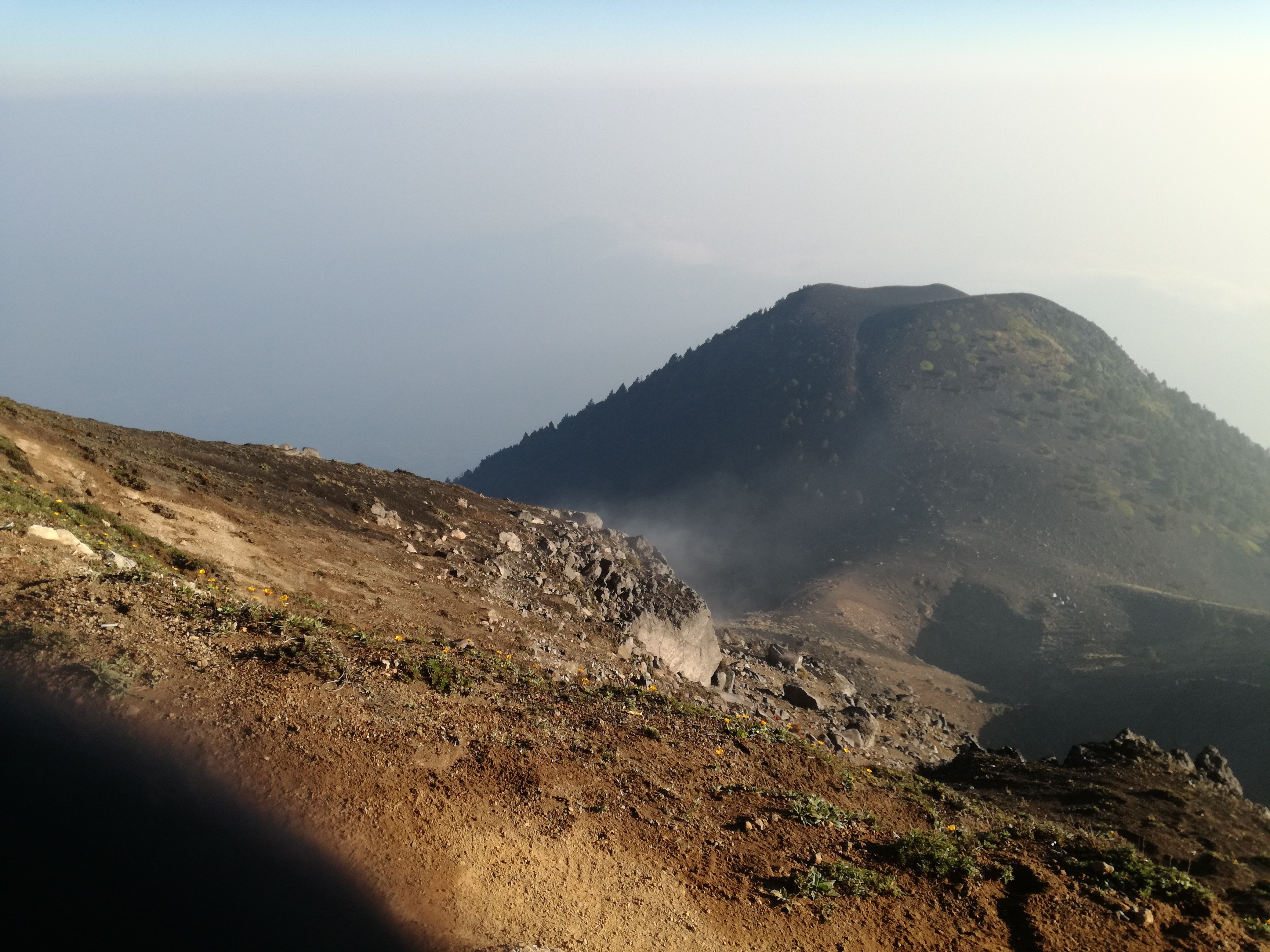 Acatenango Volcano Hike fumaroles