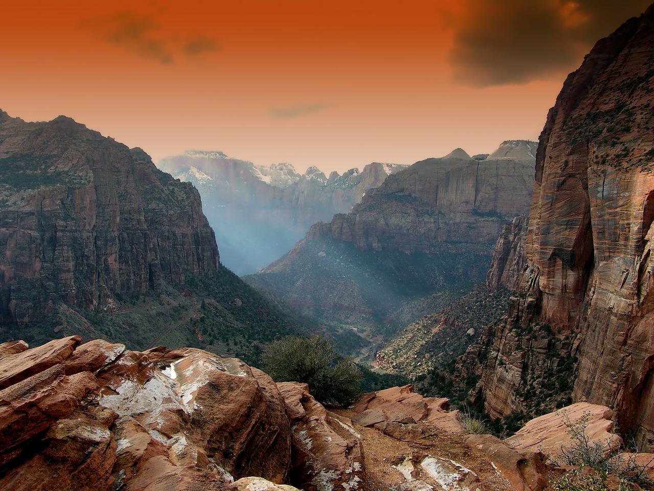 Winter RV Retreats in Utah - USA travel