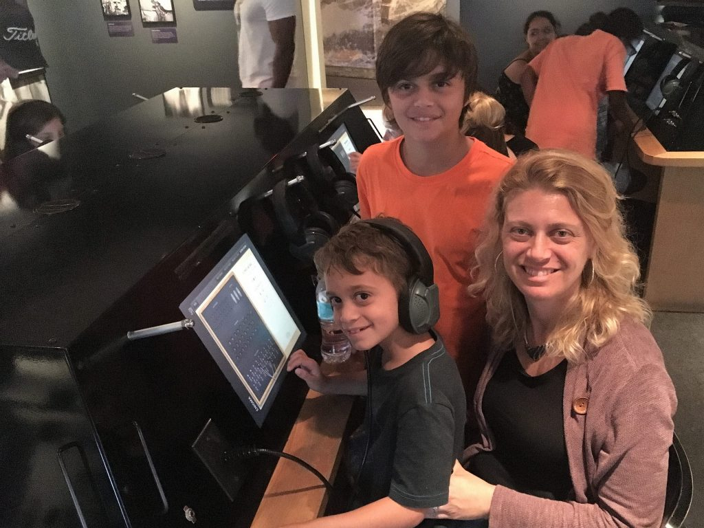 Family travel to Spy Museum Washington DC