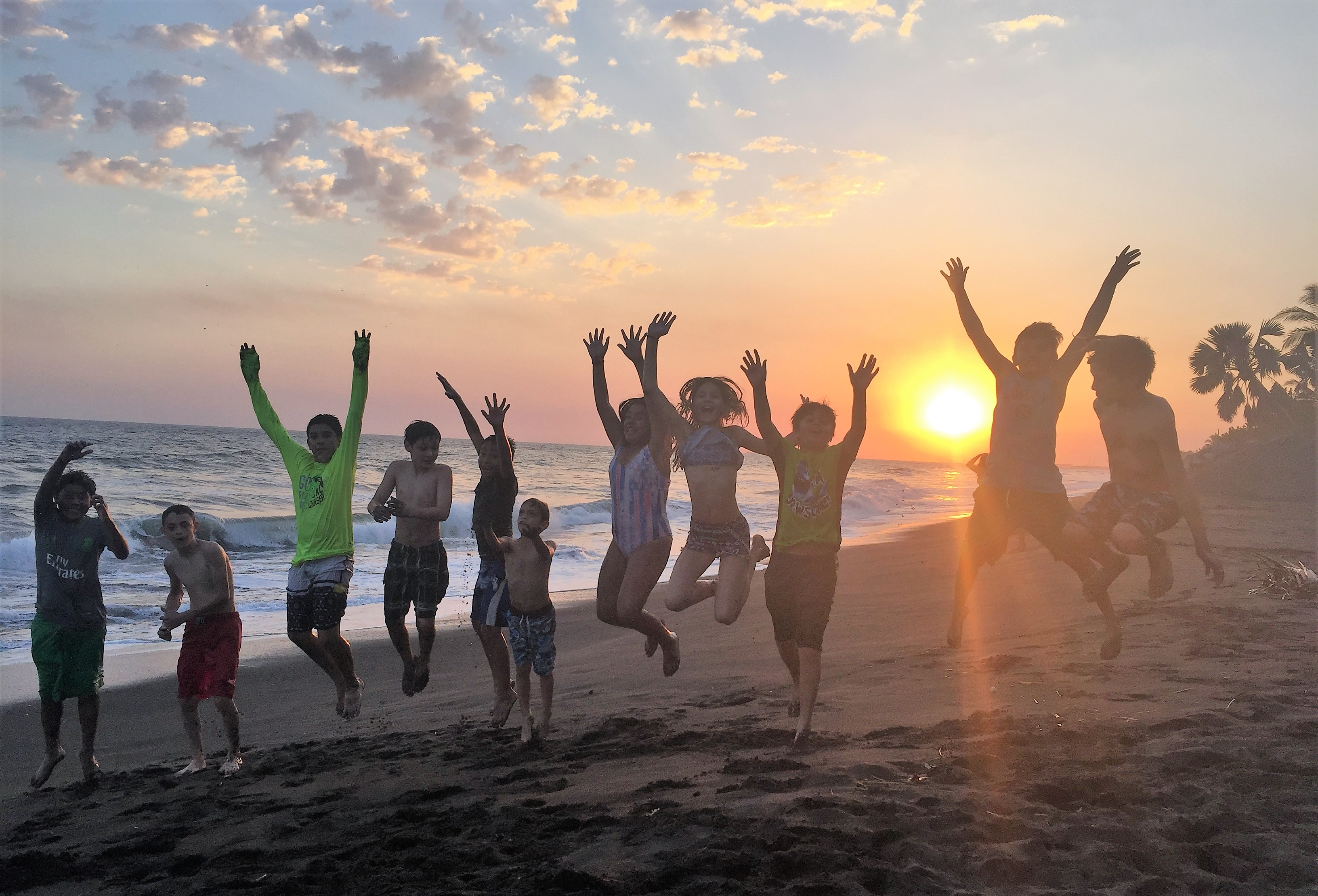 Beach Birthday Party - What Other Way to Celebrate Turning 13