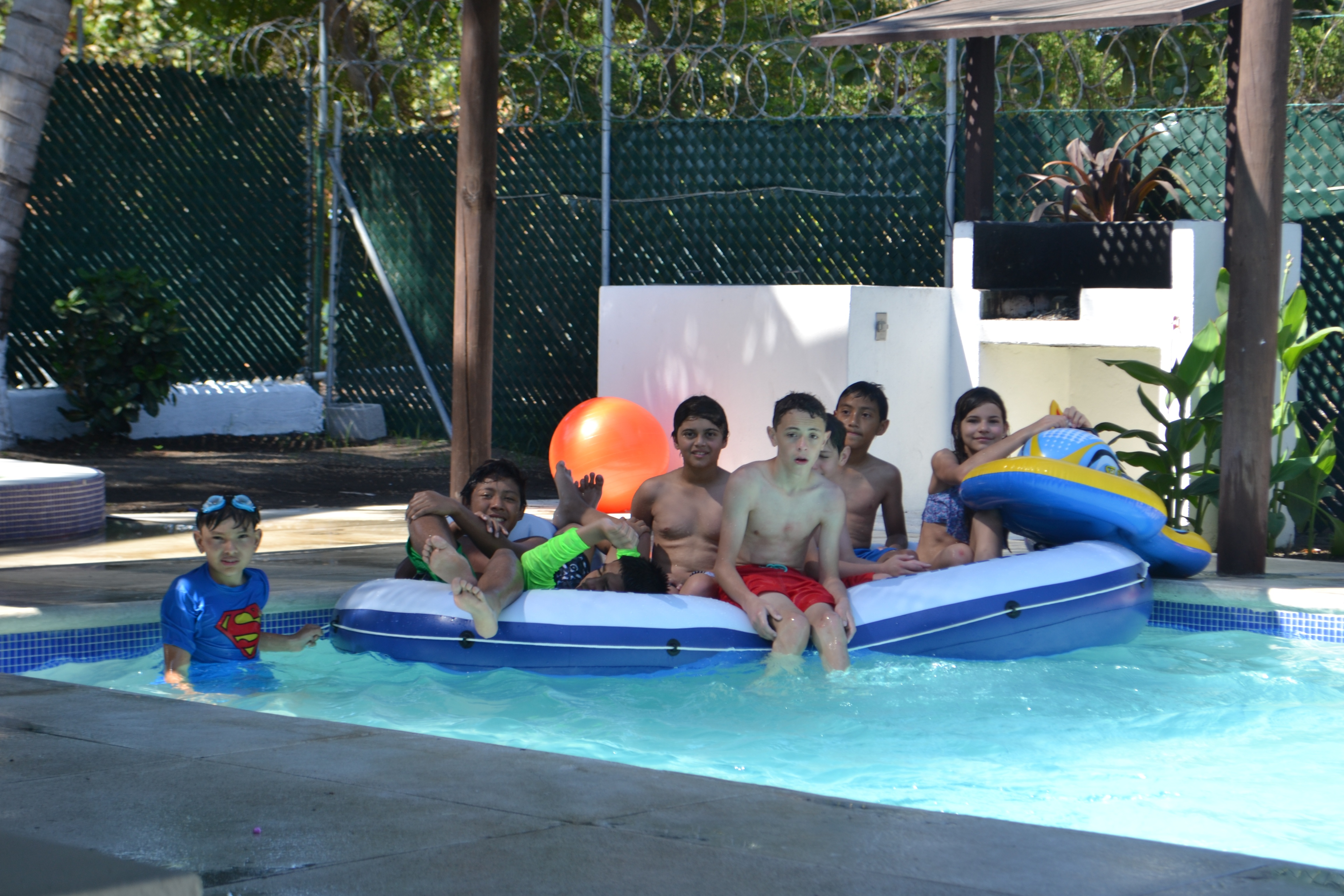 pool party at the beach house - guatemala beaches
