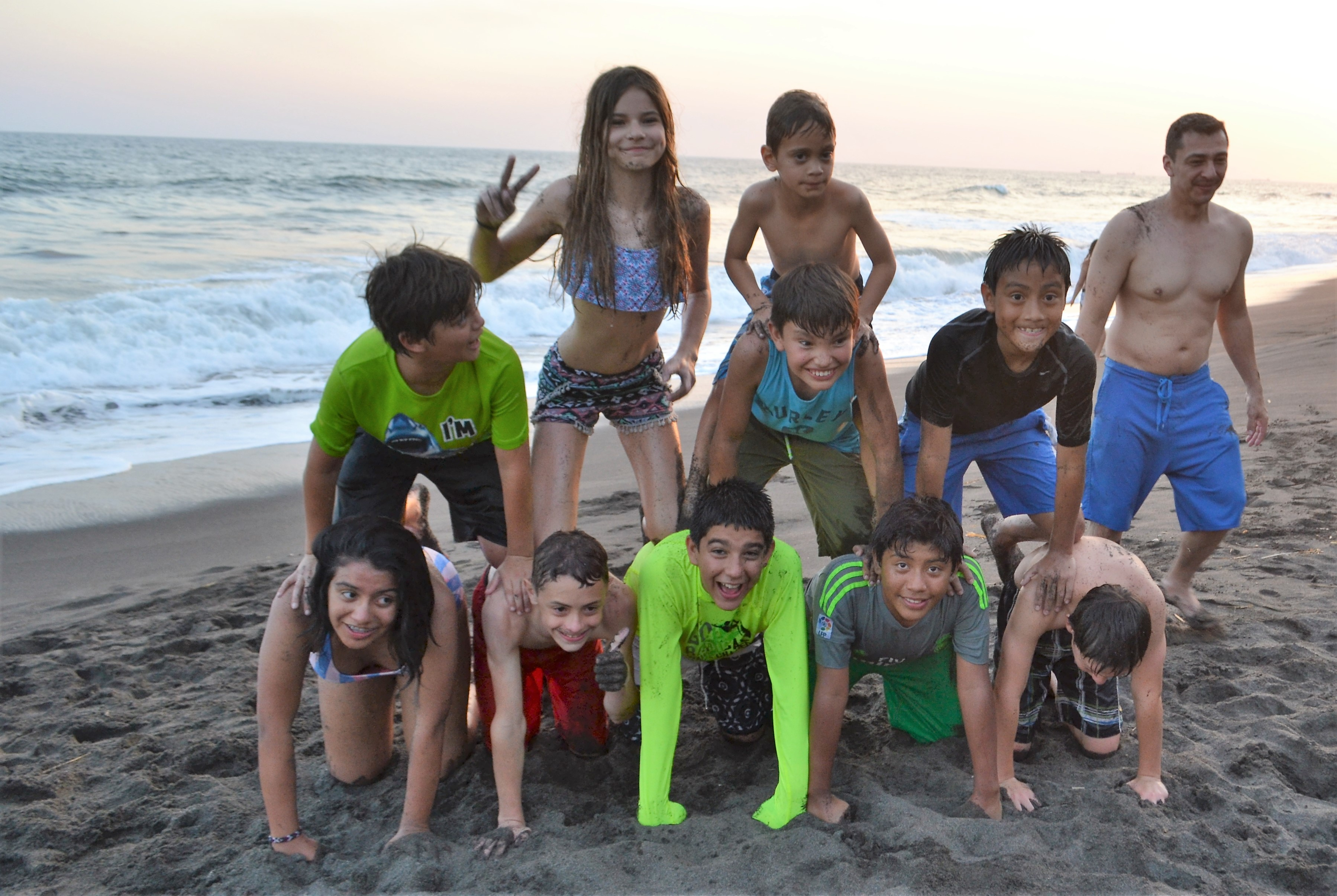 Beach Birthday Party - celebrating my son's 13th birthday