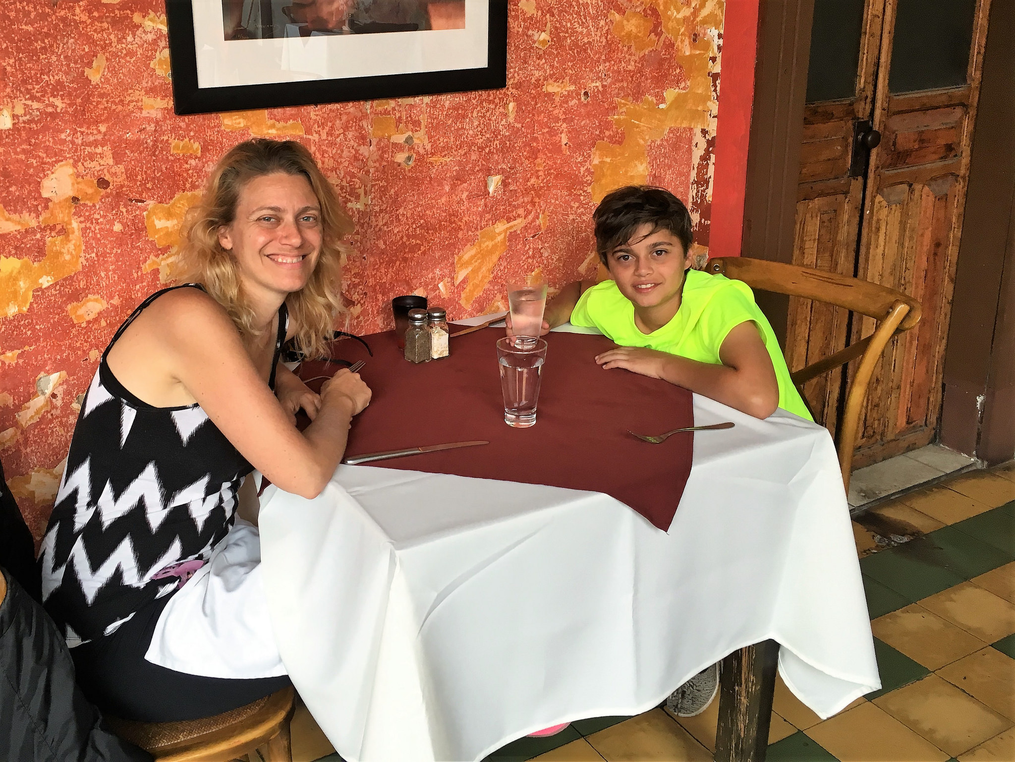 Mother Son Relationship, mother and son restaurant outings
