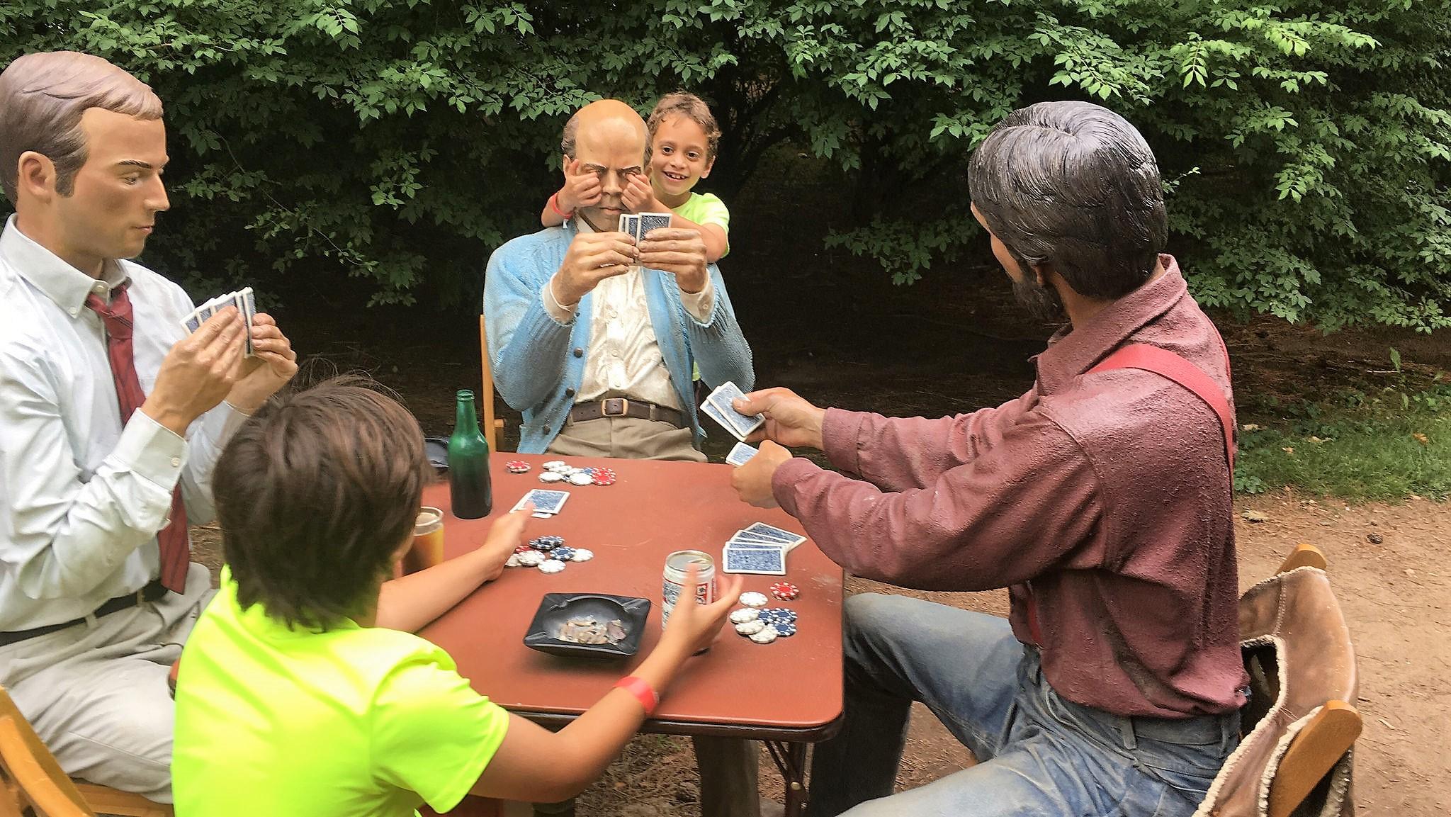 kids activities at Sculpture Garden - garden of sculptures