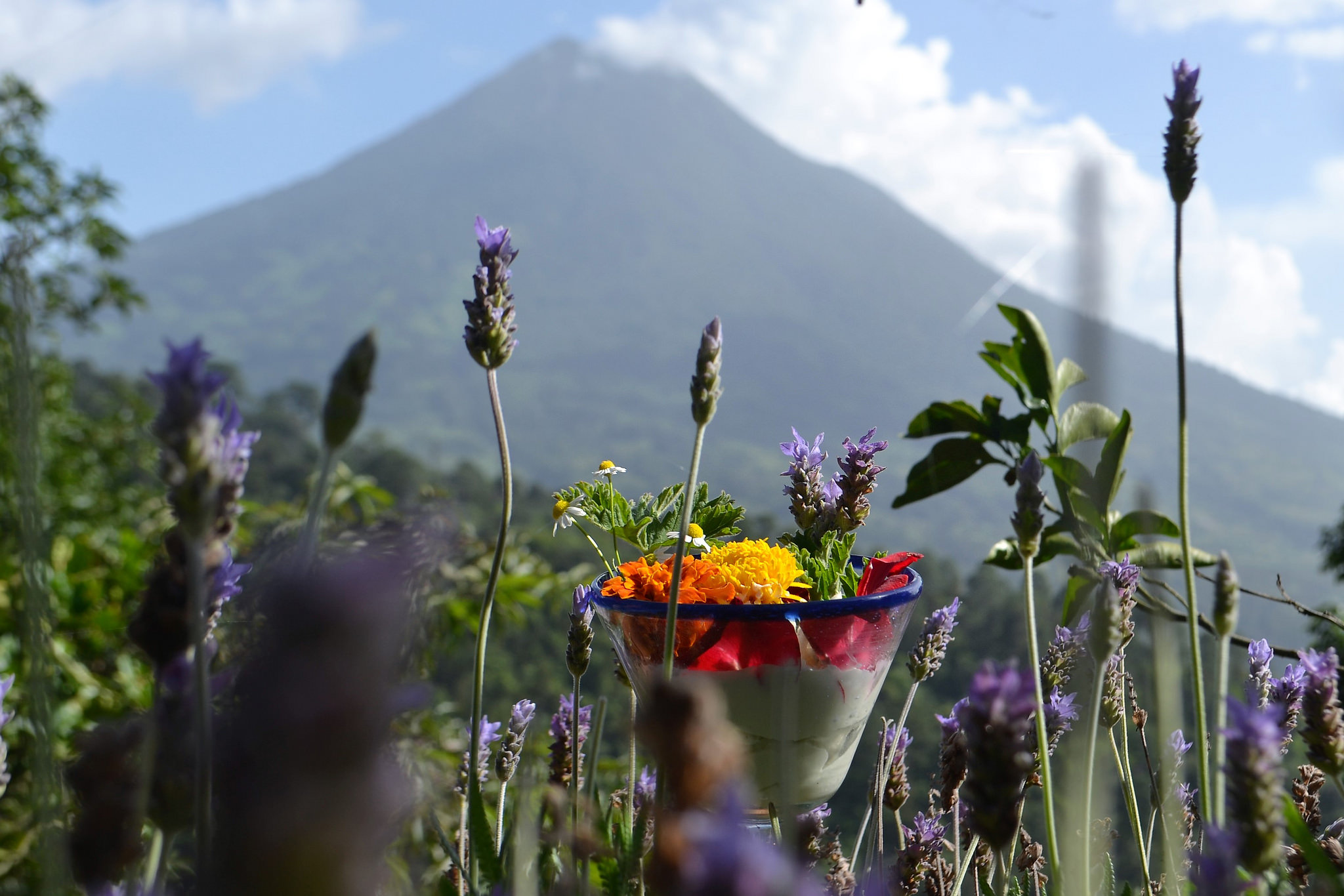 Natural Beauty Products, volcano agua, antigua guatemala