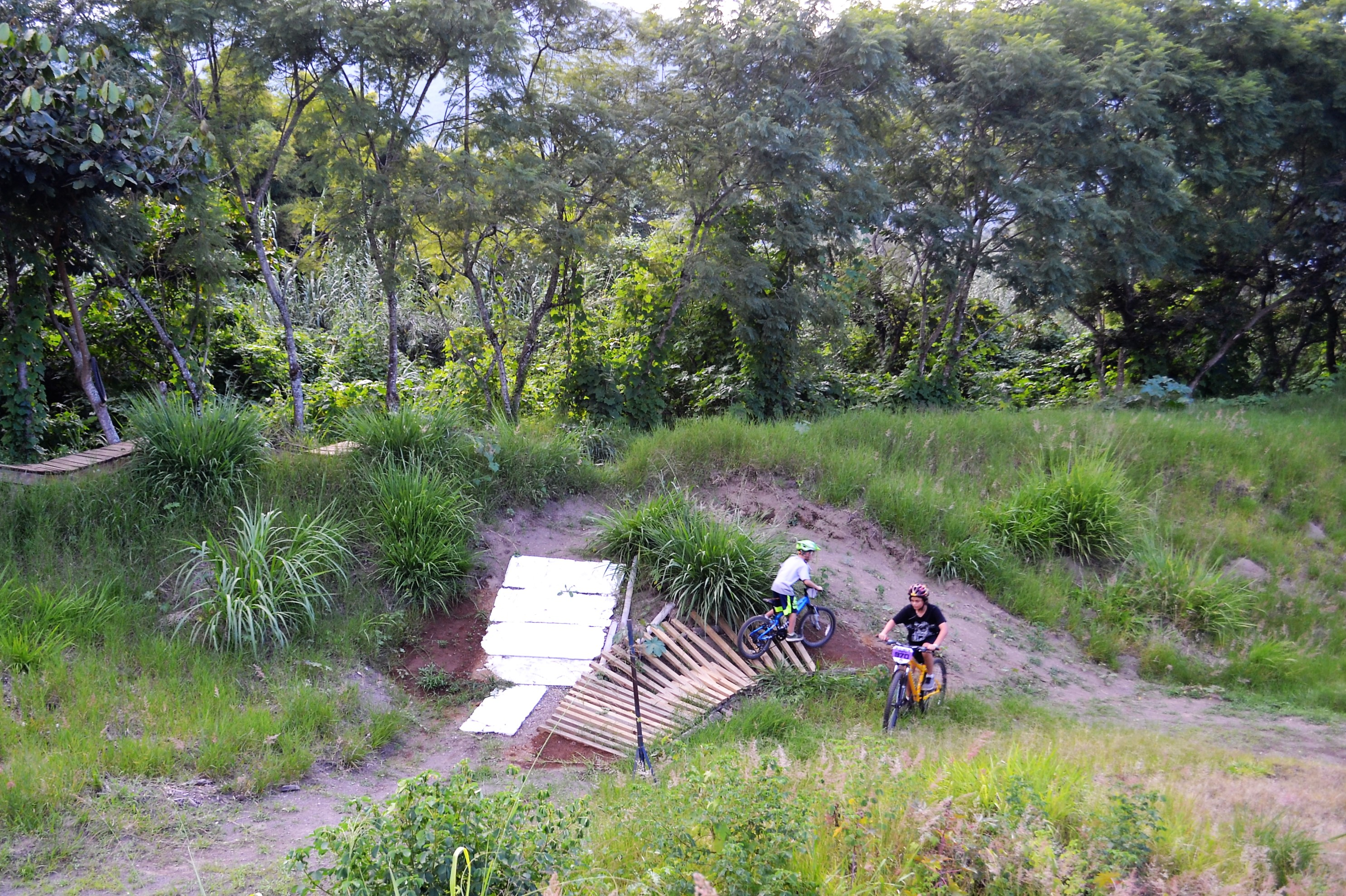 bike ramps, bike jumps, bike trails, find them all on a pump track